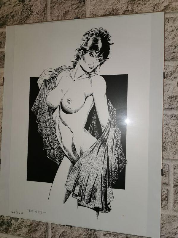 Romero: Modesty Blaise, grafika