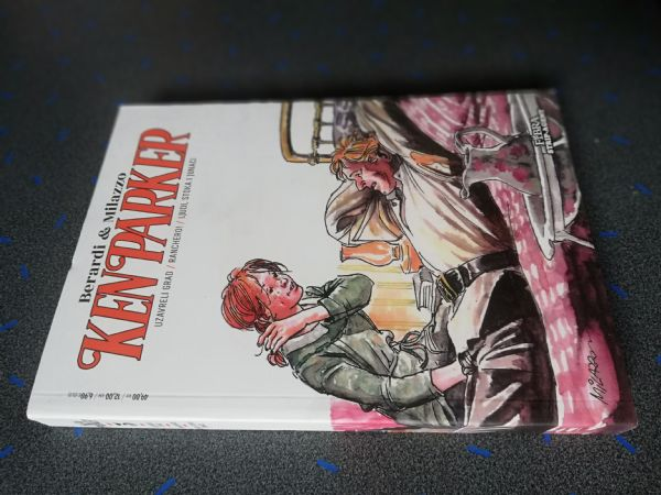 Ken Parker 5 - Uzavreli grad/Ranchero/Ljudi, stoka i junaci (Strip agent)