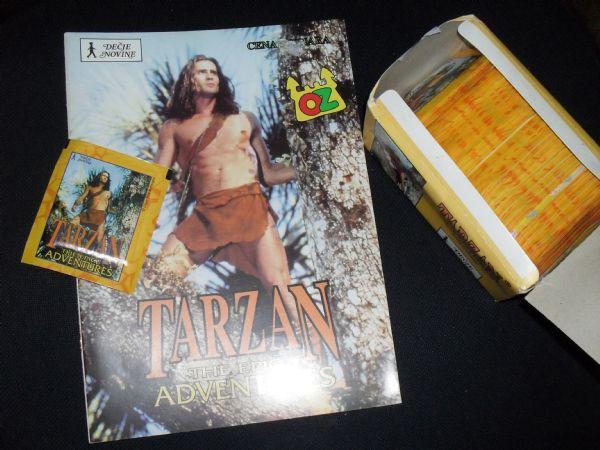 tarzan album + 150  vrećica +5