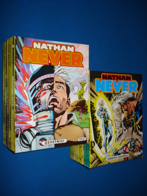 Nathan Never SD Ludens nepotpuni komplet