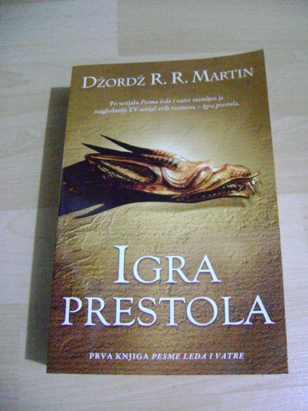 IGRE PRESTOLA - DŽORDŽ R.R. MARTIN - LAGUNA