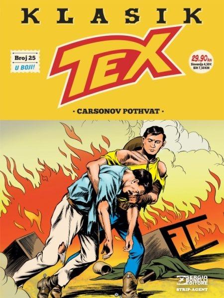 TEX KLASIK br. 25 - Strip agent
