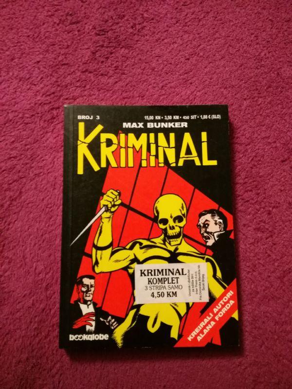 Kriminal Bookglobe br. 3