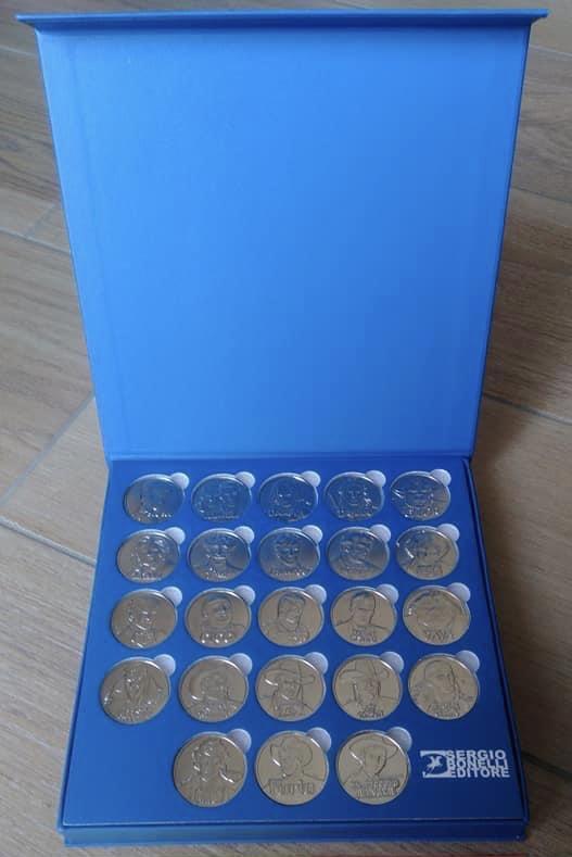Bonelli medalje - komplet