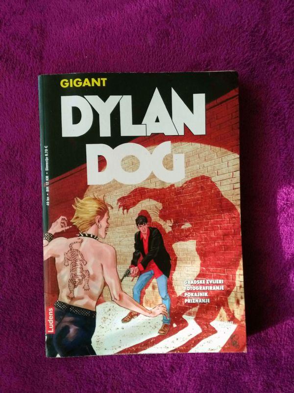 Dylan Dog Ludens Gigant br. 14 - Gradske zvijeri - Fotografisanje - Pokajnik - Priznanje (