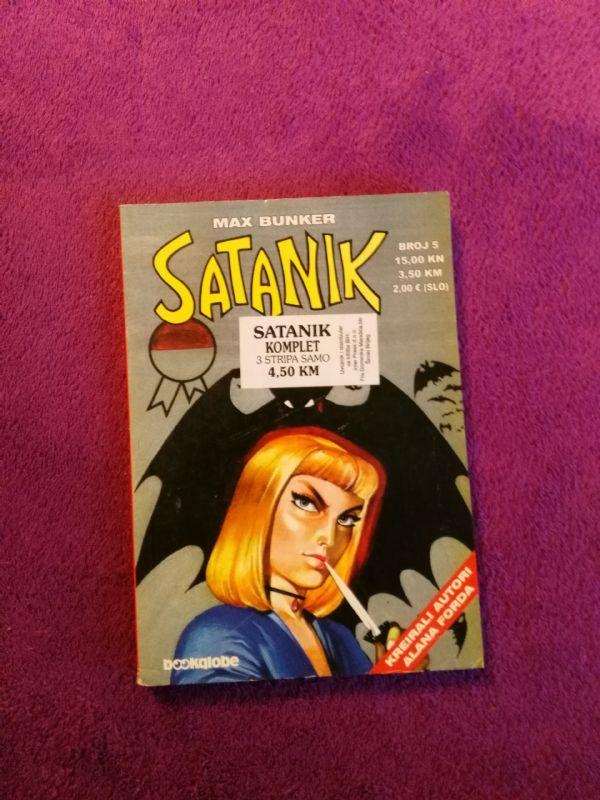 Satanik Bookglobe br. 5