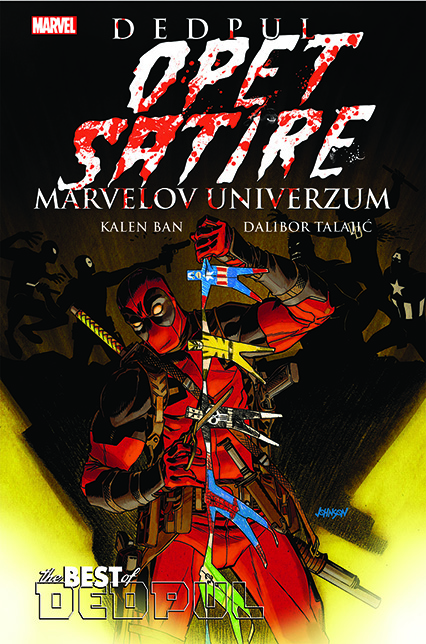 Best of Marvel 4 Dedpul OPET satire Marvelov univerzum Čarobna knjiga