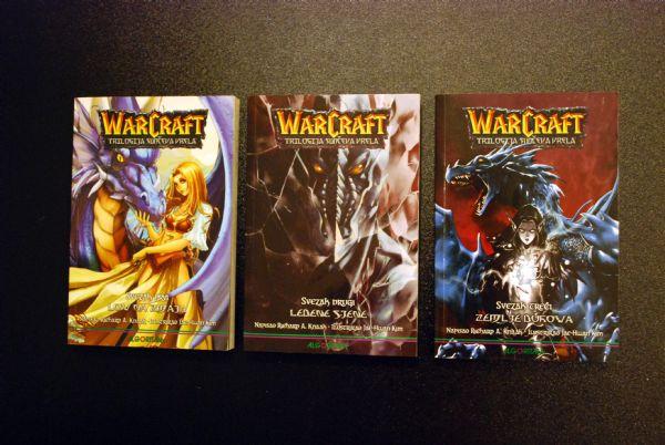 Warcraft: Trilogija sunčeva vrela, komplet 1-3