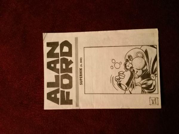 Alan Ford Prilog Večernjeg lista - Superhik IV.dio