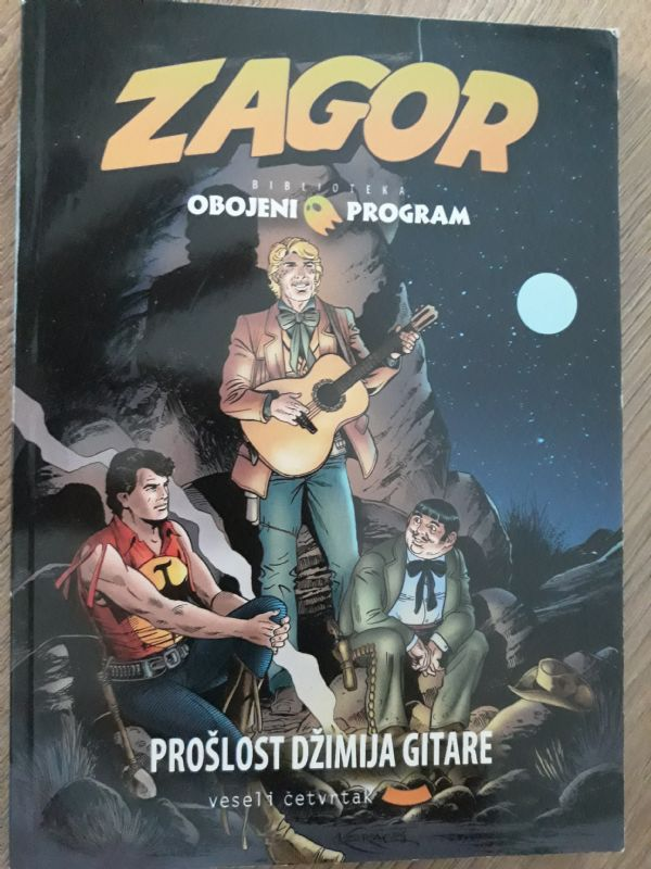 BOP VČ Prošlost Džimija gitare br.6   (-5/5)