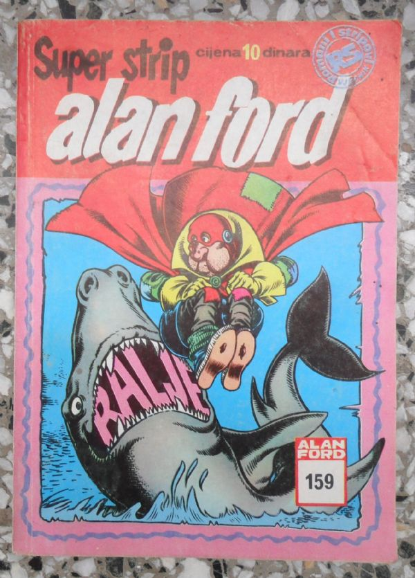 Alan Ford SS 199  RALJE