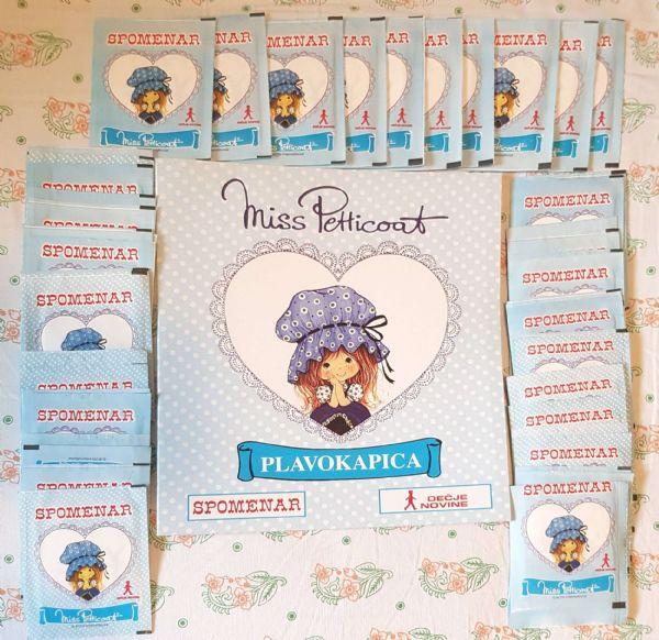 Miss Petticoat -Plavokapica- prazan album + lot sličica