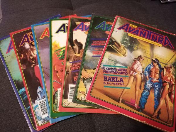 Strip Avantura (Marketprint) komplet 1-7