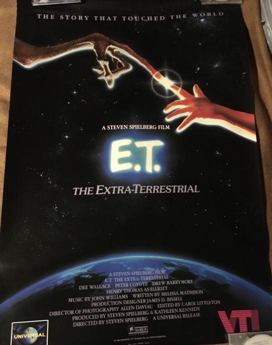 E.T. The extra terrestrial - filmski plakat