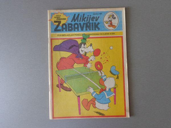 MIKIJEV ZABAVNIK Br 197  1978 GOD.  ( - 5 / 5 )