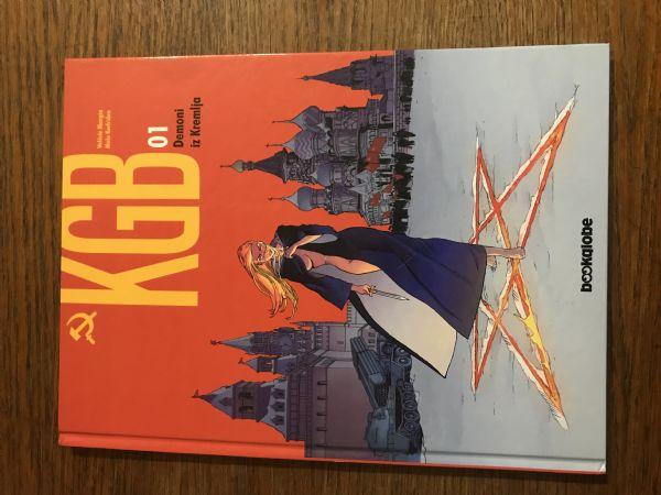 KGB 01  - TVRDE KORICE,  U BOJI