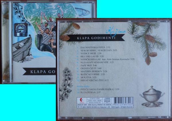 CD: Klapa Godimenti Kužina