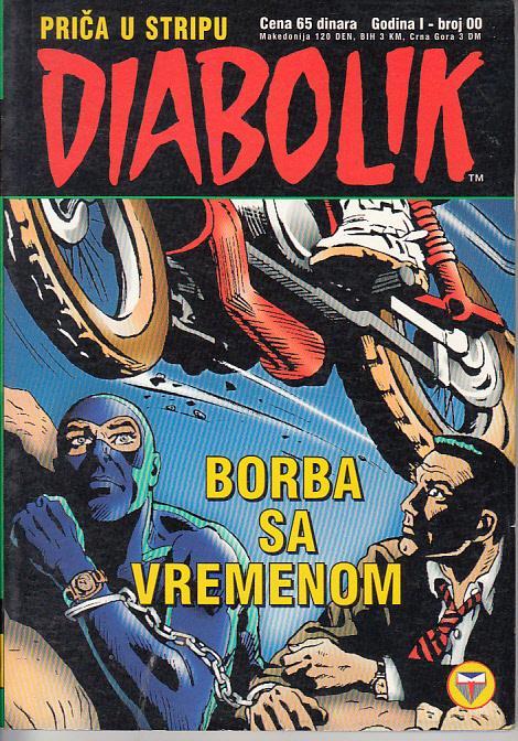 DIABOLIK 00 - BORBA SA VREMENOM (MAVERICK)