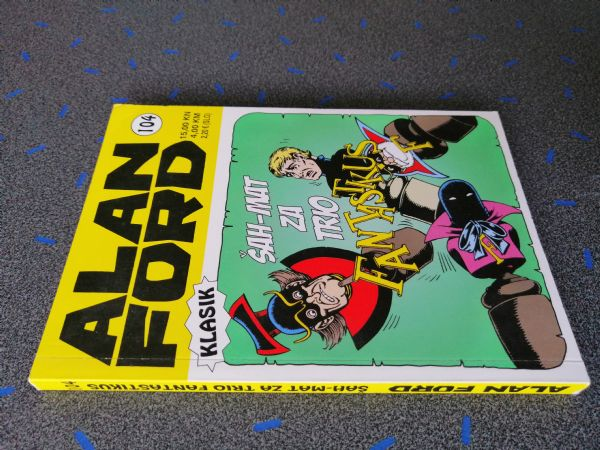 Alan Ford klasik 104 - Šah-mat za trio fantastikus (Strip agent)