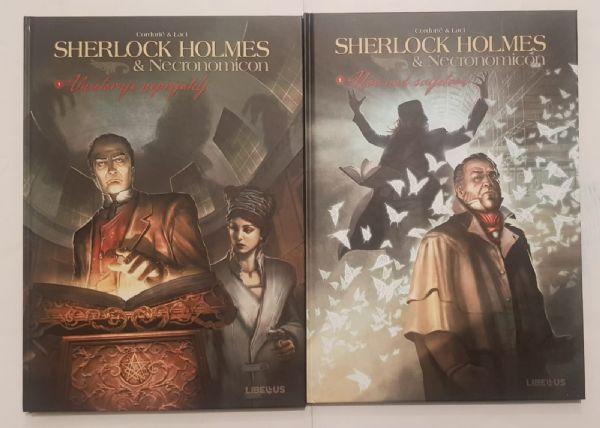 KOMPLET : S.Holmes - Necronomicon - LIBELLUS (1 - 2)