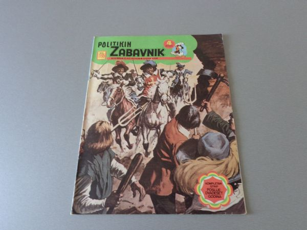 POLITIKIN ZABAVNIK Br 1195  1974 GOD.  ( 4+ )
