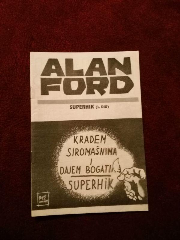Alan Ford Prilog Večernjeg lista - Superhik III.dio
