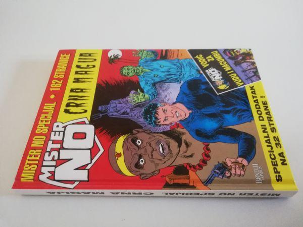 Mister No specijal ljeto 2006 - Crna magija (Strip agent) - TVRDE KORICE