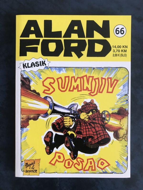 Alan Ford klasik 66 SUMNJIV POSAO 5++
