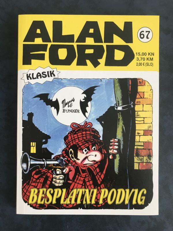 Alan Ford klasik 67 BESPLATNI PODVIG