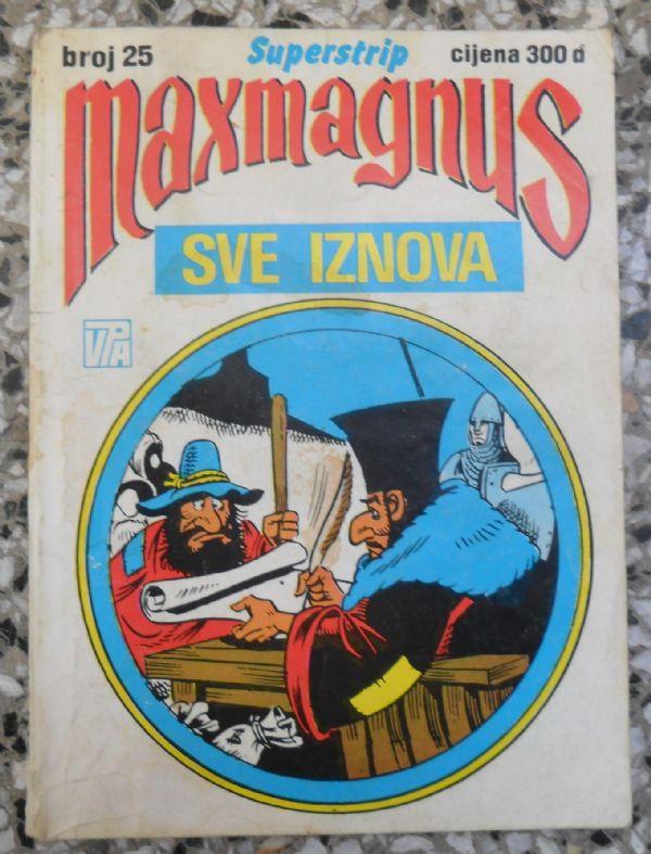 Maxmagnus Superstrip br. 25 - Sve iznova