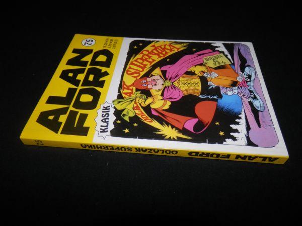 ALAN FORD STRIP-AGENT KLASIK 75 - ODLAZAK SUPERHIKA (5) OD 1 KN!!!