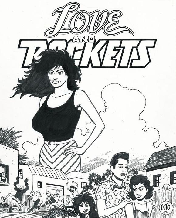 Strip  - Page 2 Love&RocketsTPBCover