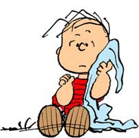 LINUS VAN PELT與的毛毯