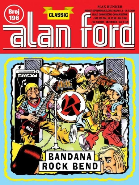 Bandana Rock bend