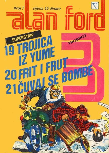 Trojica iz Yume - Frit i Frut - Čuvaj se bombe