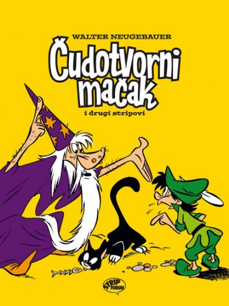Čudotvorni mačak i drugi stripovi