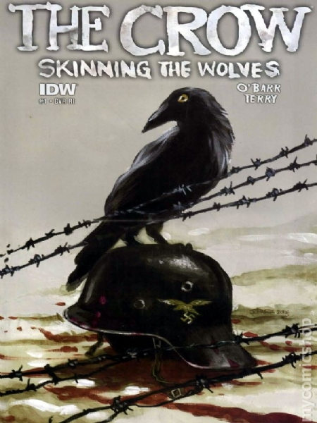 The Crow Skinning the Wolves
