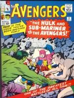 The Avengers meet Sub-Mariner!
