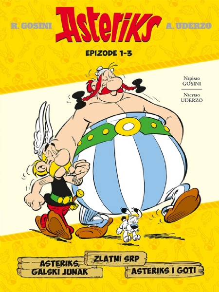 Asteriks, galski junak - Zlatni srp- Asreriks i Goti