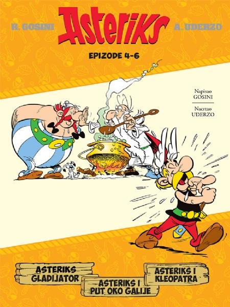 Asteriks gladijator - Asteriks i put oko Galije - Asteriks i Kleopatra