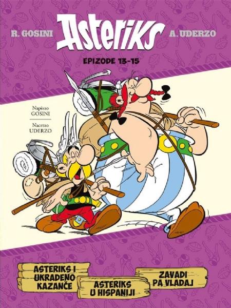 Asteriks i ukradeno kazanče - Asteriks u Hispaniji - Zavadi pa vladaj