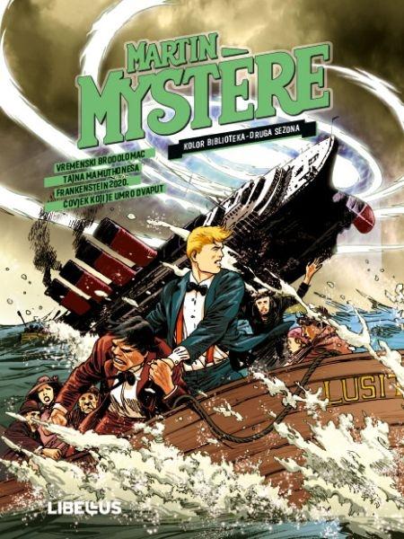 Vremenski brodolomac - Tajna Mamuthonesa - Frankenstein 2020. - Čovjek koji je umro dvaput