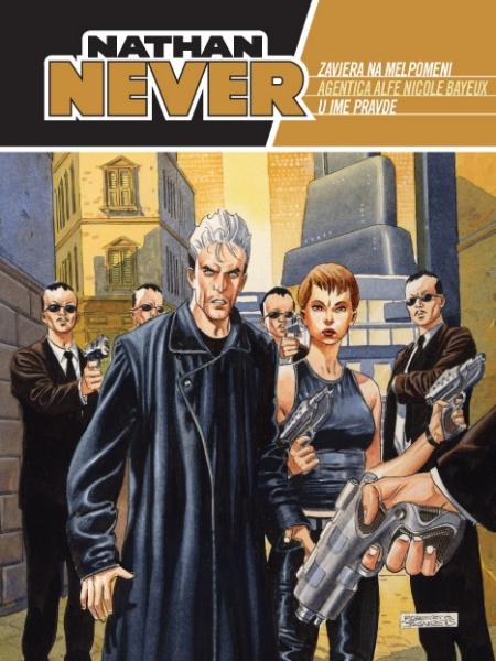 Zavjera na Melpomeni - Agentica Alfe Nicole Bayeux - U ime pravde