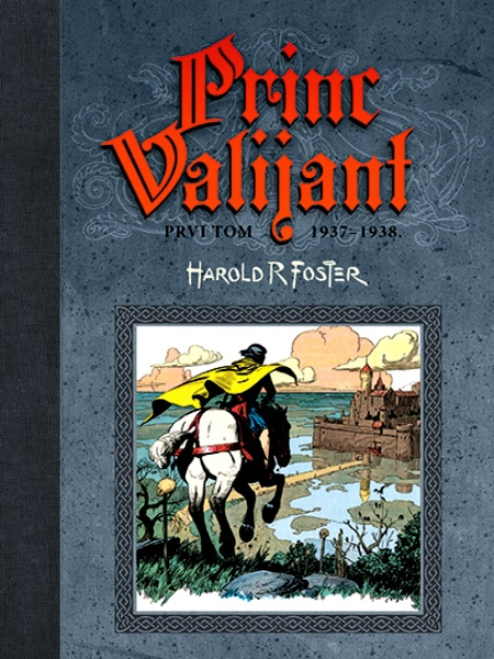 Princ Valijant - I tom (1937–1938)