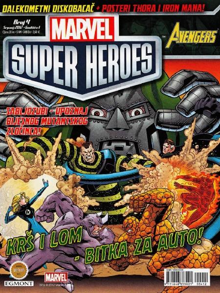 Marvel Super Heroes #4