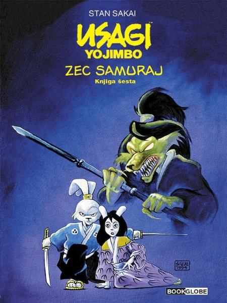 Zec samuraj - knjiga šesta