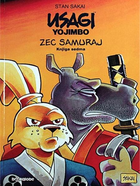 Zec Samuraj - knjiga sedma