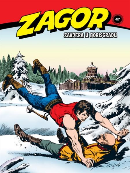 Zagor klasik - komplet od 4 stripa