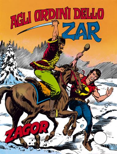 Agli ordini dello zar - Zagor - www.stripovi.com - Prozor